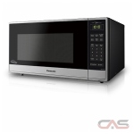 Panasonic NNST765S Countertop Microwave, 1200 Watts, 1.6 cubic ft