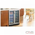 Silhouette DBC2760BLS Beverage Center, 23 13/16'' Width, Free Standing & Built In