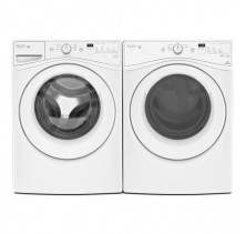 Whirlpool WFW75HEFW  5.2 Cu Ft., Front Load Washer<br> Whirlpool YWED75HEFW 7.4 Cu Ft., Electric Dryer