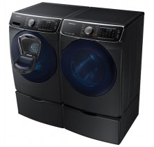 Samsung WF45K6500AV 5.2 Cu Ft Front Load Steam Washer, Add to Wash<br>Samsung DV45K6500EV 7.5 Cu Ft Steam Dryer